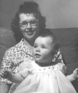 Baby Susan Matley and Mother