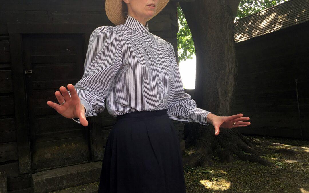 Matilda Sager Delaney in Baker City, Oregon, July 9-11!